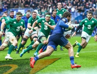 As It Happened: France edge Ireland by a single point in Paris