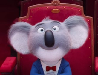 "WATCH: Matthew McConaughey is a koala bear in new animated movie ""Sing"""
