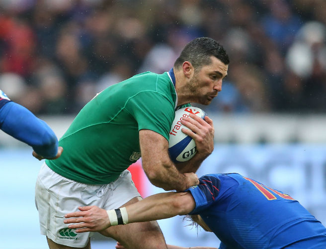 Ireland, France, rugby, Rob Kearney