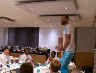 WATCH: Steven Fletcher launches into the Fresh Prince rap for his Marseille initiation