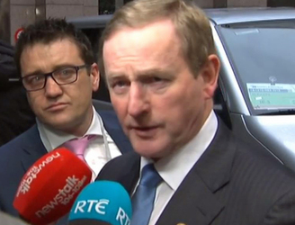 Enda Kenny confronted by angry voters in Meath West