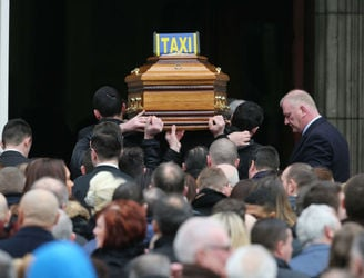 Hutch funeral told retaliation is not what the family wants