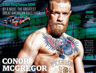 Conor McGregor honoured with Sports Illustrated cover