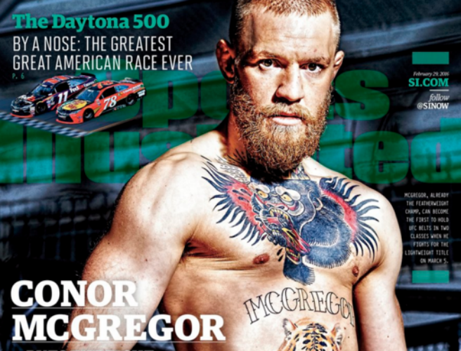 Conor McGregor, Sports Illustrated