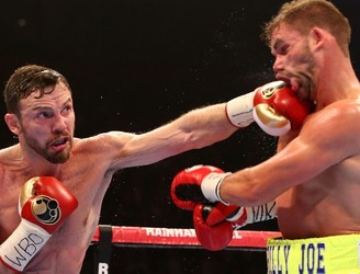 Andy Lee looks to vanquish Billy Joe Saunders defeat with a World Title fight in June