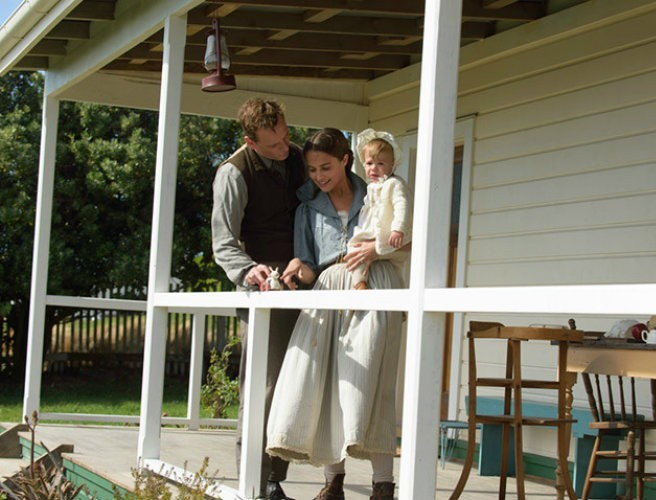 "WATCH: Prepare for tears with the first trailer for the Michael Fassbender starring ""The Light Between Oceans"""
