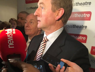 """It is a disappointing day for our party"" - Enda Kenny on Fine Gael's election results"