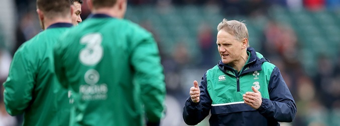 Joe Schmidt, Ireland, England,
