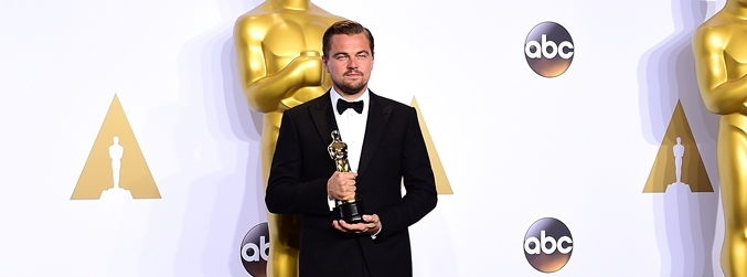 Leonardo DiCaprio, Oscar, win, The Revenant
