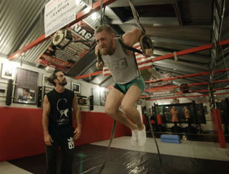 Movement continues to be the key for Conor McGregor