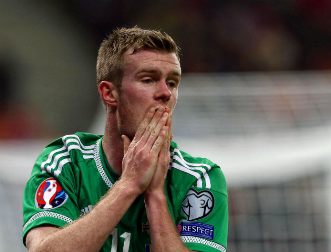 Chris Brunt, Northern Ireland
