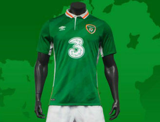 Ireland's Euro 2016 jersey has finally been revealed