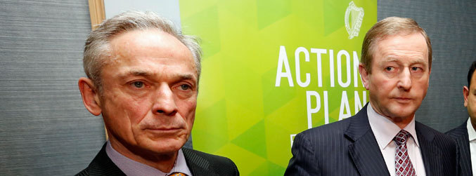Richard Bruton, Enda Kenny, leader, Taoiseach, Fine Gael, party rules, parliamentary party