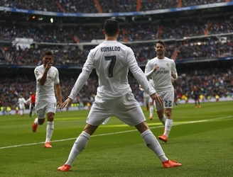 Cristiano Ronaldo becomes fastest player to record 350 goals for European club