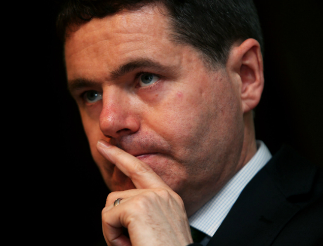 Paschal Donohoe says Brexit could hamper Irish growth