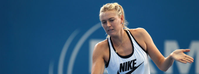 sharapova, drugs, nike, tennis