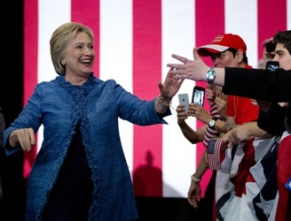 Hillary Clinton widens her lead over Bernie Sanders