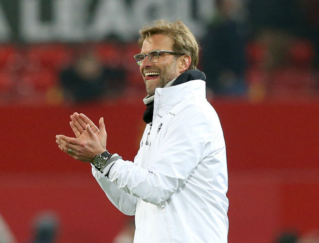 Bring on Manchester City, cries gleeful Juergen Klopp as Liverpool crush Stoke