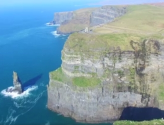 WATCH: Beautiful drone footage of the Cliffs of Moher