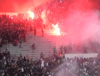WATCH: Two dead and over 50 injured following brawl between rival fans at soccer game in Morocco