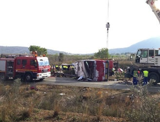 Spanish bus driver may face charges after 13 crash deaths