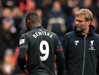 Christian Benteke voices frustration after public dressing down from Jurgen Klopp