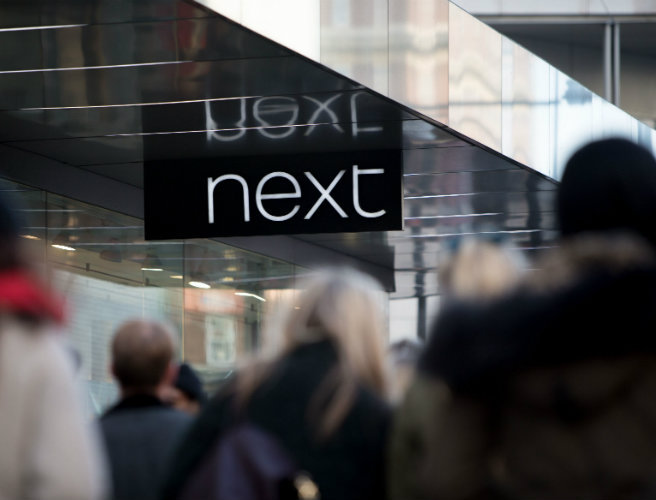 Retail giant Next takes another sales hit