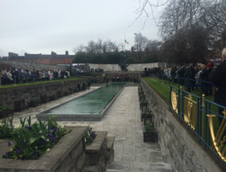 Wreath-laying ceremony opens Easter weekend commemorations