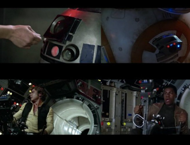 "WATCH: Side-by-side comparison of ""A New Hope"" and ""The Force Awakens"""