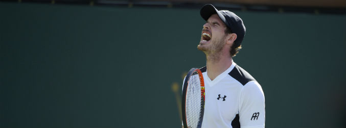 WATCH: Things haven't been rosy for Andy Murray at the Miami Open
