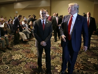 Donald Trump's campaign manager Corey Lewandowski charged with misdemeanour battery