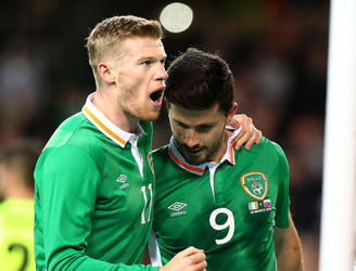 "Keith Andrews highlights the very impressive ""encouraging signs"" from Ireland's new system"