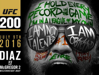 CONFIRMED: Diaz v McGregor 2 set for main event at UFC 200