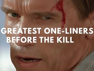 WATCH: The 100 greatest one-liners... before the kill