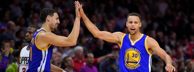NBA, Stephen Curry, Klay Thompson, Golden State Warriors,
