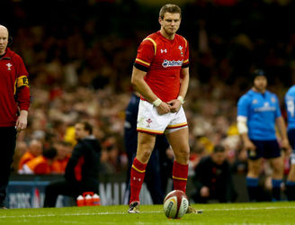WATCH: Dan Biggar's planning to tone down his La Macarena-style kicking routine