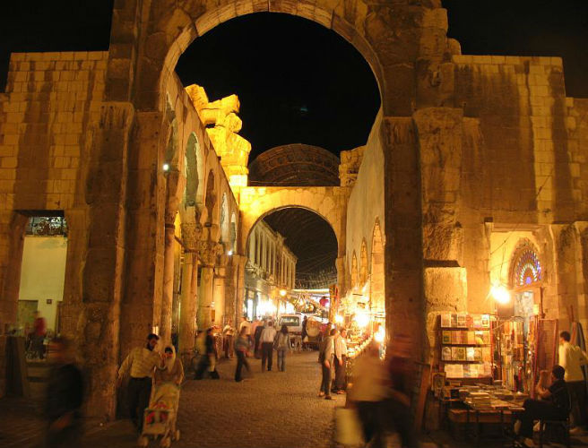 Damascus, a beautiful city bathed in history & violence