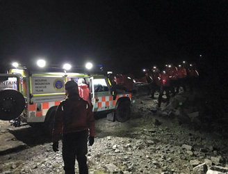 Eleven members of school group rescued from Mourne Mountains