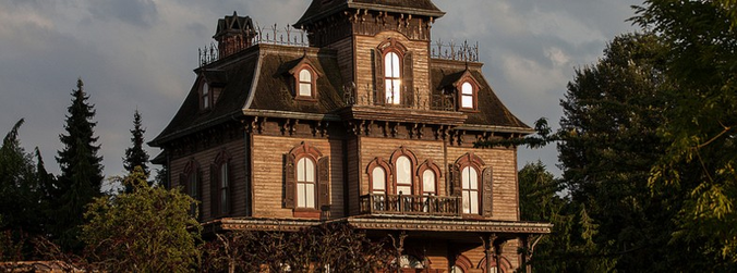 Disneyland, Paris, Phantom Manor, Haunted House, France, Crossy