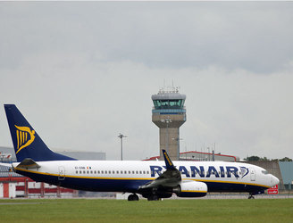 Ryanair flights between Brussels Zaventem and Dublin will not resume until later this month
