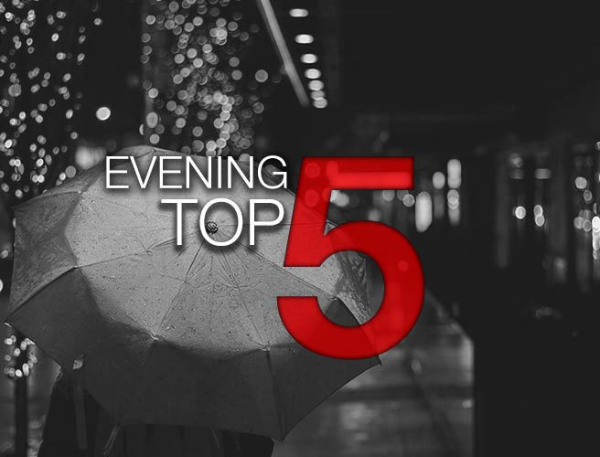 Evening top 5: Coalition chance crumbles, Irish Water workers, and a very happy bride