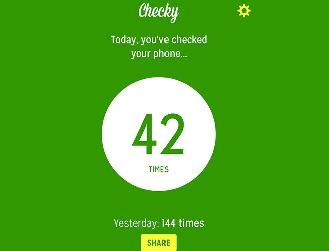 Friday Download: Do you want to know how many times you check your phone a day?