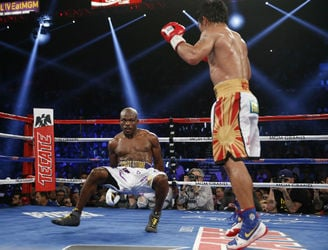 Manny Pacquiao announces retirement after defeating Timothy Bradley