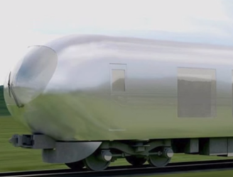 Japan are planning to introduce the world's first invisible train in 2018