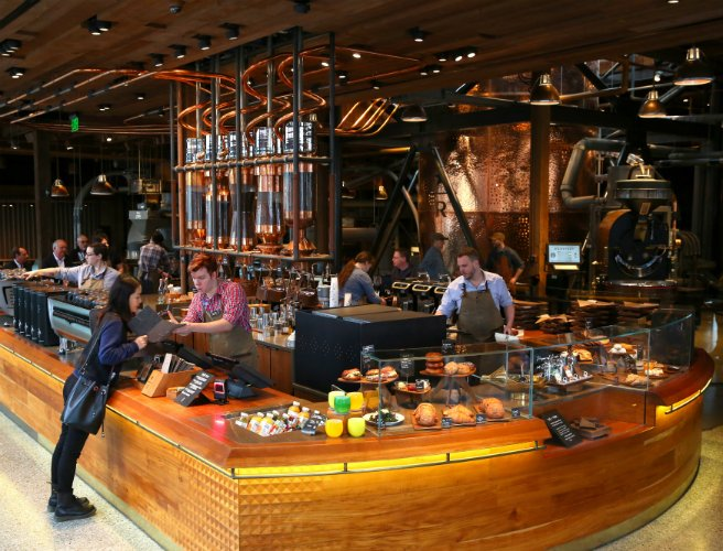 """Coffee as theatre"" – Starbucks plan biggest ever store"