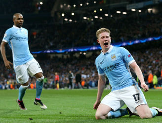 Brilliant Kevin de Bruyne goal propels Man City into the Champions League semis