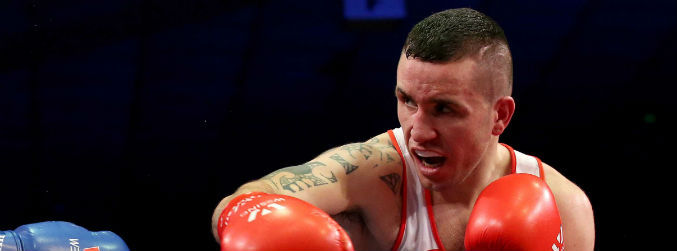 David Joyce becomes the second Irish boxer beaten today in the Olympic qualifiers