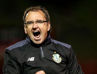 Pat Fenlon delighted with how his Shamrock Rovers side bounced back to win the derby