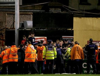 WATCH: Extra footage released of trouble between Bohemians and Shamrock Rovers fans
