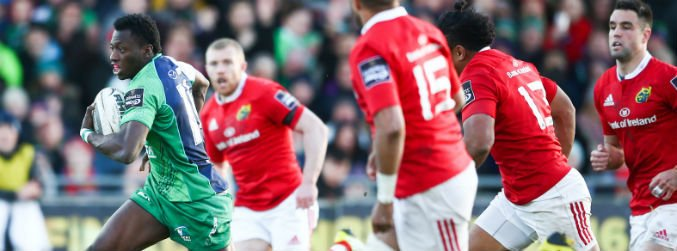 As It Happened: Connacht claim bonus point victory over Munster